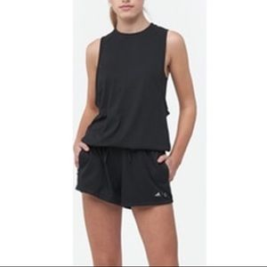 Adidas Wanderlust Black Athleisure Romper
